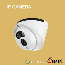 keeper brand Megapixel H.264 compression IR waterproof dome network camera with 3G mobile monitor