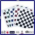 china fabricación de alta calidad de vinilo tablero de ajedrez