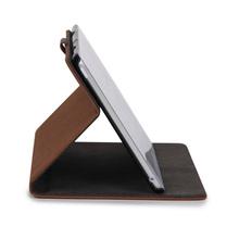 Custom design nubuck leather tablet cover case for ipad mini