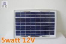 5W 12V poly solar panels