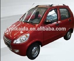 Gasoline 4 passenger smart famous minibus solar car