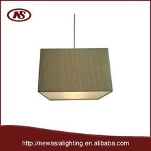 2015 Hotel pendant lamp shade Square shape lamp shade