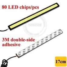 Long Life Span 12 Months Warranty 17cm LED Daytime Running Light