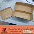 De cartón marrón caja de perro caliente marca/los envases y embalajes de alimentos/*fb20150108- 1