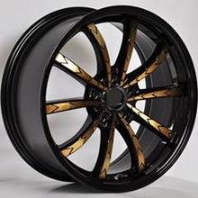 14 15 16 17 inch 4x100 5x100 5x114.3 car alloy wheel rims
