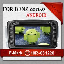NEW ! Wince 6.0 OS 7 Inch HD Car DVD Player with GPS/WIFI/BT/SD for Mercedes Benz W203/W209/W639(AL-9311)