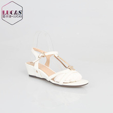 H1057-H568 mid heel wedge fashion ladies sandals woman sandal ladies fancy sandal