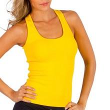 Cotton ribbed silky wholesale yoga tank custom women gym tops