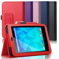 PU leather folio stand magnetic case cover for Google Nexus 7 Nexus 10 Tablet