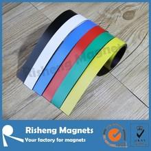 30m length flexible rubber magnet in rolls custom produced