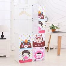 American style small space wardrobe furniture bedroom (FH-AL0029-8)