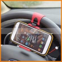 Multi-functional Mobile Phone Holder / Mount / Clip / Buckle Socket Hands Free On Car Steering Wheel