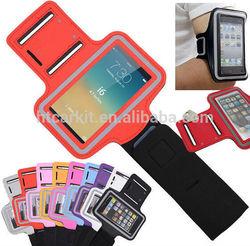 neoprene running soft case for iphone 6 armband/2015 for iphone 6 running sports armband