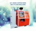 Ce aprobó la alta calidad de separación de ritmo cardíaco residuos de alambre de cobre máquina de reciclaje
