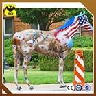 life size fiberglass horsing