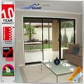 Austrália luxo alumínio portas de correr cumprir as2047& as2208 padrão