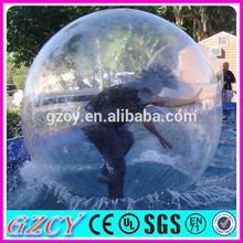 Top sale transparent jumbo water ball