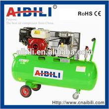 10.8CFM 7.5HP Italy series gasoline belt drive air compressor 100L