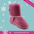 Made in china alibaba exportador popular fabricante de nieve de dibujos animados suave botas con suela eva