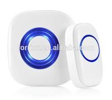 FORRINX intelligent wireless doorbell with 52 melodeis 300m range LED light for elder