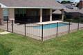 poteaux de clôture en acier galvanisé