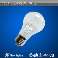 E27 A60 LED Filament Lamp Bulb 3000K LED Filament Lamp christmas lamp and lighting