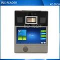 Iris ko-ir801 iris biométricos de control de acceso sistema de software con