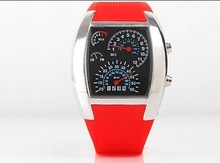 2015 Newest man fashion Car Dashboard design digital LED aviator watch