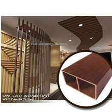pvc beam/wpc interior decorative square colunms 51*16mm