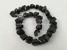 Wholesale price Semi-precious black tourmaline rough stone