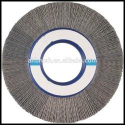 Nylon/Silicon Carbide Bristles Wheel Brush