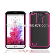 ballistic combo armor cell phone Case Cover For LG G3 Stylus D690