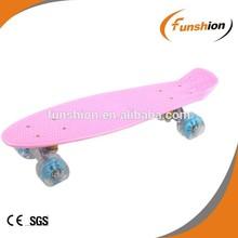 Kids skateboard/ blank skate decks /fish plastic skateboards