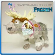 Mini Qute wholesale 43 cm Kawaii cartoon stuffed plush Frozen doll princess anna & elsa olaf sven girls gift kids children toy