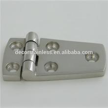 AISI316 marine hardware heavy duty unequal door hinges