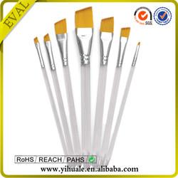 Factory price artist brush set 7 pcs mini