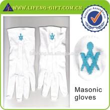 compass and square masonic symbol glove
