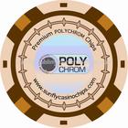 ceramic casino chips, ceramic poker chips, polychrom chips