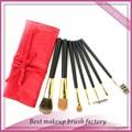 De haute qualité outil de cosmétiques pinceau de maquillage cosmétiques usine gros Écureuil valises,