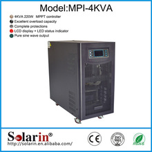 Energy saving high power inverex inverter with solar cell panels