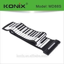 88-key piano music keyboard usb midi connect to pc