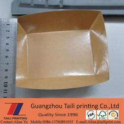 Laminated paper tray / food packing tray / Fruit packing tray *FB20150108-2
