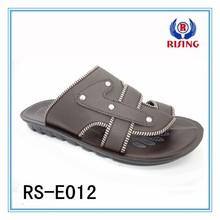 2015 new sandals, alibaba china market, PU sole men slippers