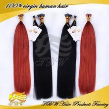 Fashion Hair Styling Yaki Hair Extension Prebonded I Tip Hair