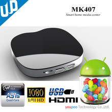 tv box android Awllinner A20 Qual Core Kitkat 4.2 XBMC Factory price Android tv box
