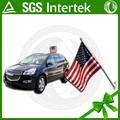 personalizado de alta calidad de la marca nombre del coche de la bandera americana