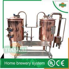 mini copper or stainless steel beer fermenter system