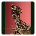 bronze do sexo o homem nu e escultura de mulher