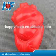 heart shaped stress ball anti stress bal promotional toy high quality PU