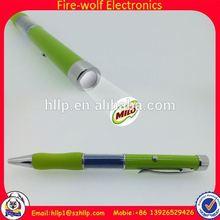 Brasil world cup promotion flashlight pens